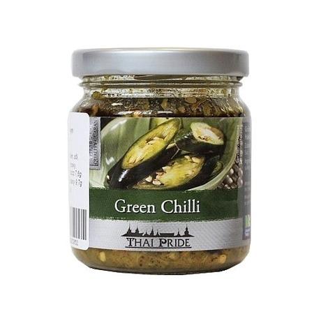 Chilli siekane, zielone w oleju sojowym 180g