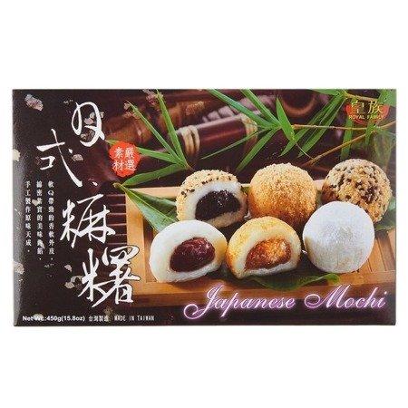 Ciasteczka mochi w stylu japońskim, różne smaki 450g Royal Family