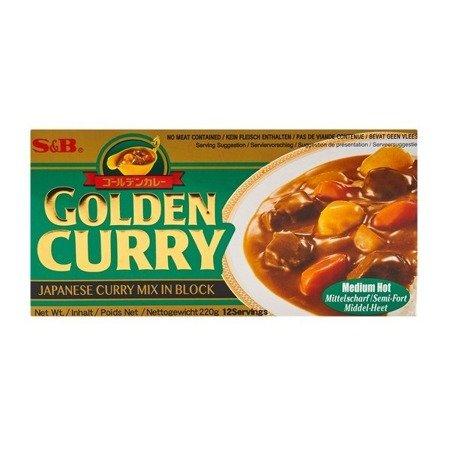 Golden Curry 220g S&B średnio ostre