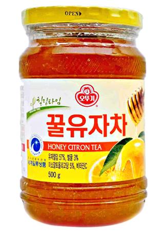 Herbata z yuzu, cytryną i miodem 500g