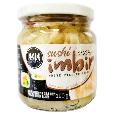 Imbir marynowany biały 190g Asia Kitchen