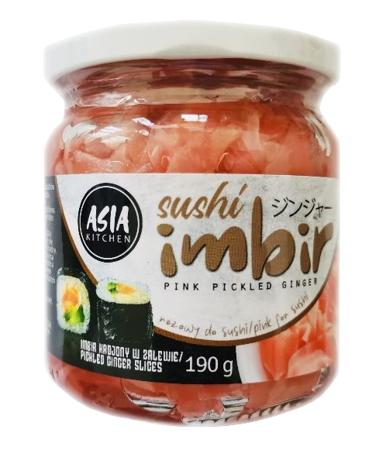 Imbir marynowany różowy 190g Asia Kitchen