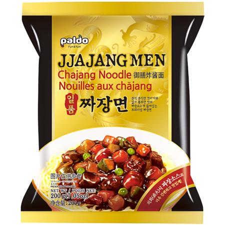 Jjajang Men, makaron z sosem z czarnej fasoli 200g - Paldo
