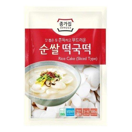 Kluski ryżowe do topokki, plastry 1kg Jongga