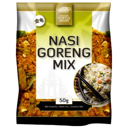 Miks do Nasi Goreng - indonezyjskiego smażonego ryżu 50g, Golden Turtle Brand