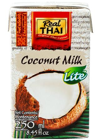 Mleko kokosowe Lite 55% Real Thai 250 ml