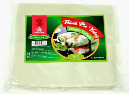 Papier ryżowy kwadratowy 19cm, 500g - Hiep Long