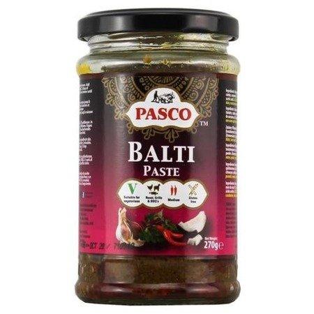 Pasta Balti lekko ostra 270g Pasco