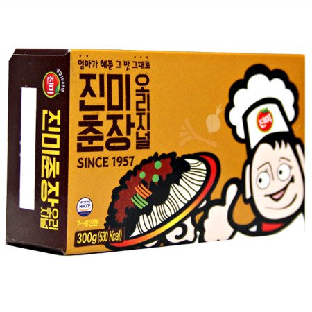 Pasta z czarnej fasoli - chunjang 300g Jinmi