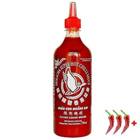 Sos chilli 70% Sriracha 730ml bardzo ostry