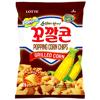 Chipsy kukurydziane Popping Chips Grilled Corn 72g Lotte