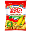 Chipsy kukurydziane Popping Corn Chips 72g Lotte